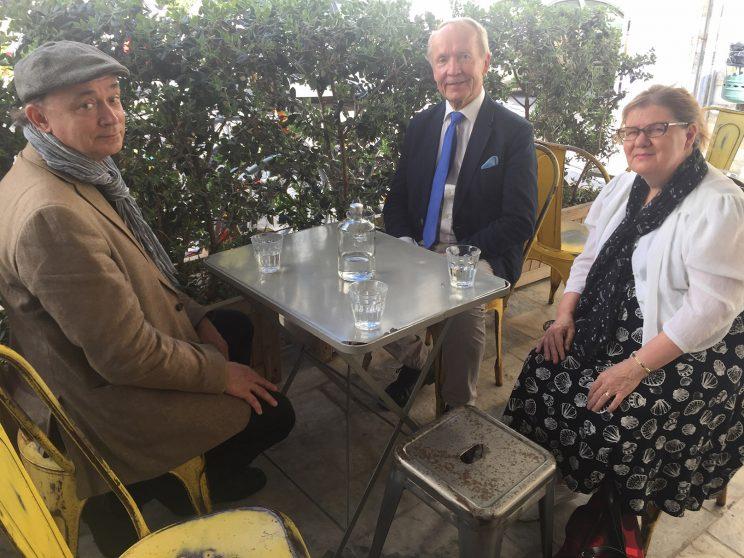 Professors Altti Kuusamo and E. Tarasti, Dr. Sari Helkala-Koivisto