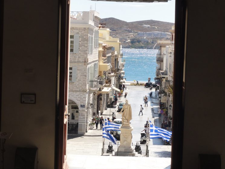 Landscapes from Ermoupolis, Syros