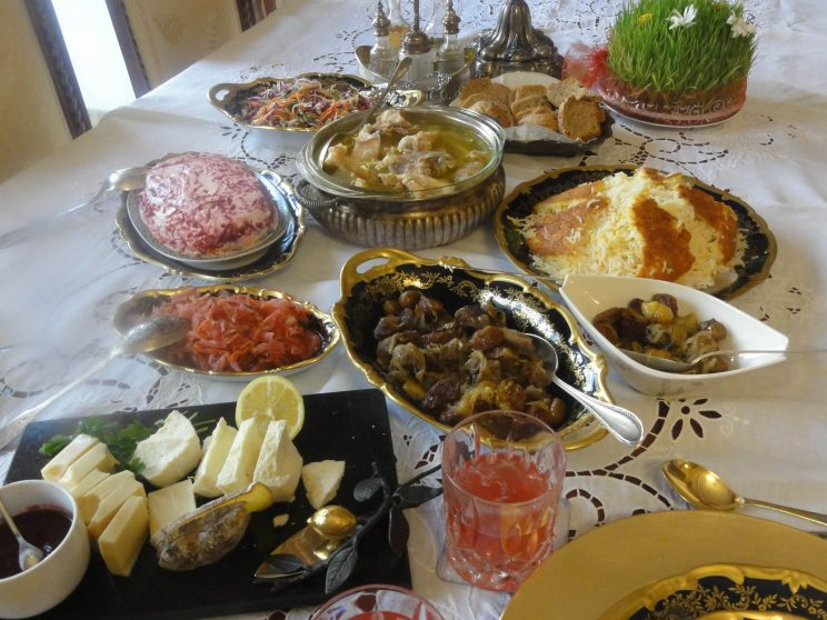 An Azeri lunch